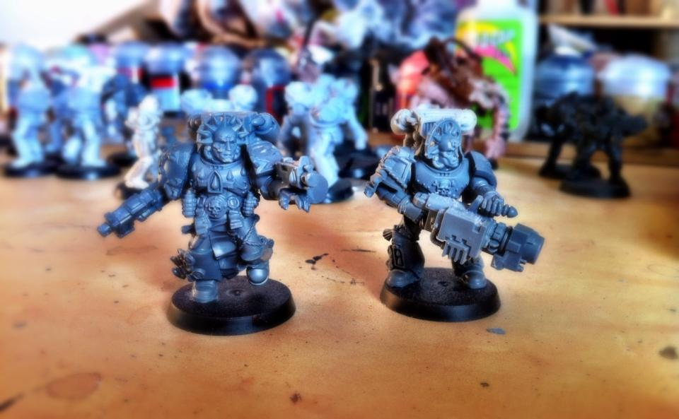 WIP - Blood Angel Destroyers of the Sixth Chalice.