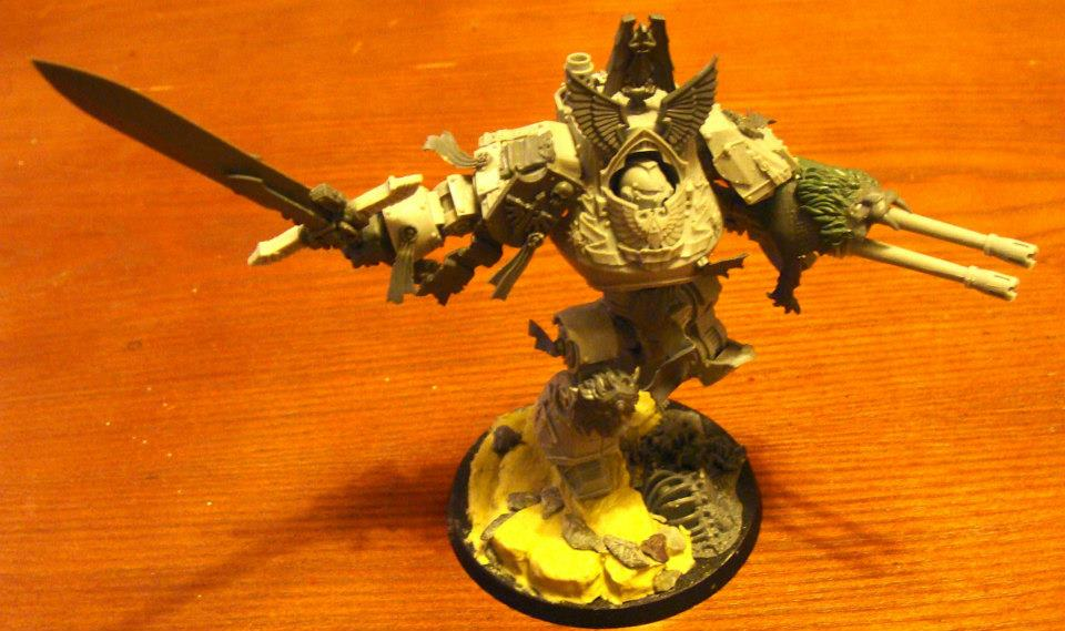 Eddie's WIP Contemptor - I look at this, and I realise that I wouldn't even go to Eddie's funeral if he died.