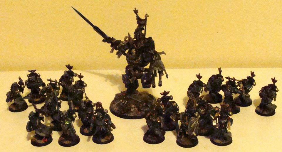 Eddie's full army so far.