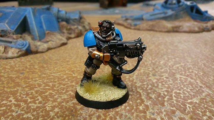 Jai Livingstone's Celestial Lion Scout. I'm in love with the gold and the skin tone.