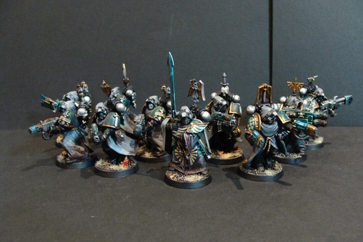 Knight-Legionaries of Squad Cadorius
