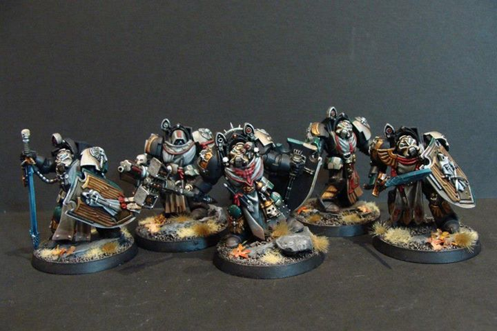 Veteran Knight-Legionaries of Squad Durnure